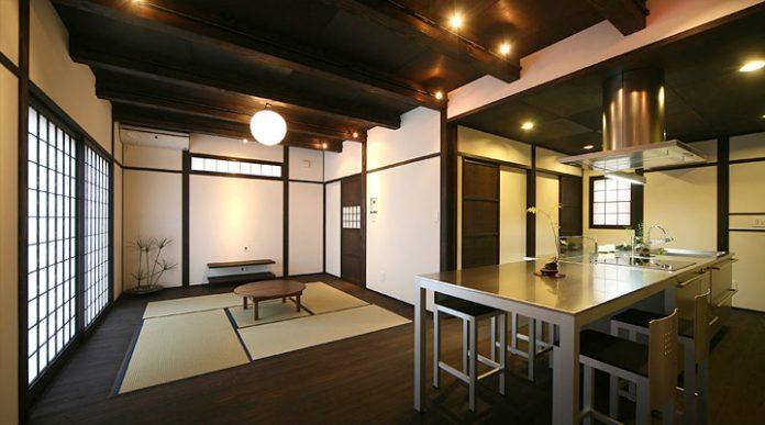 Bucatarie in stil japonez, Foto: architectureinteriordesigns.com