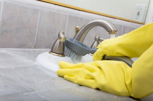 Cum sa aveti o baie curata si sanatoasa, Foto: vanthofschoonmaak.nl