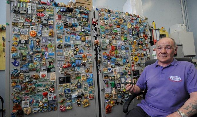 Colectie magnete de fridiger Foto: glasul-hd.ro