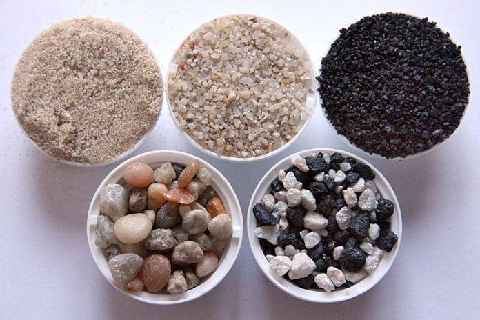 Nisip pentru acvariu Foto: www.fmueller.com