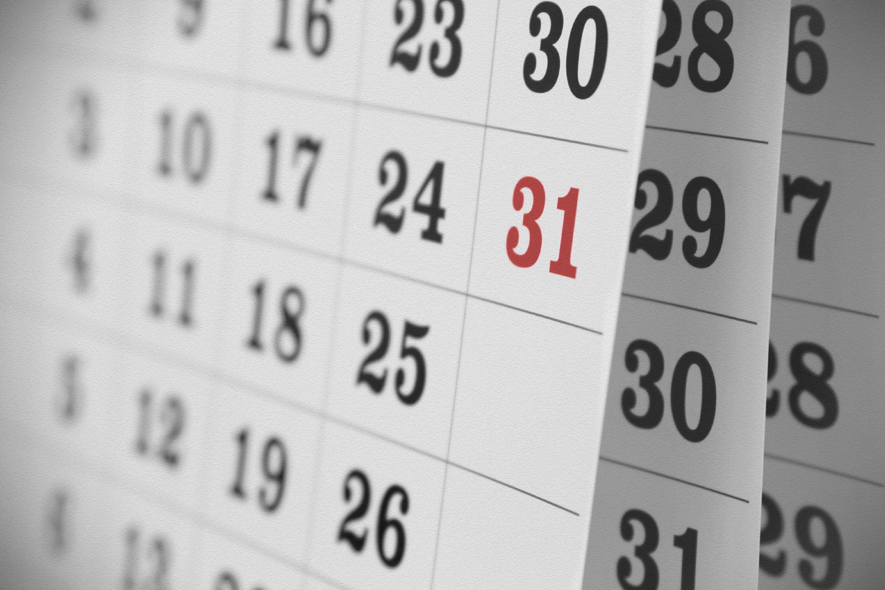 Calendar Foto: enforma.salud180.com
