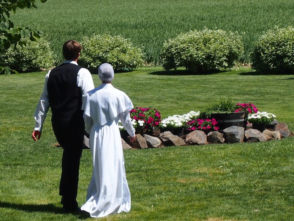 Cum se realizeaza o nunta in comunitatea Amish, Foto: amish365.com