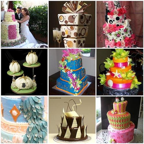 Diverse optiuni pentru decorarea tortului de nunta