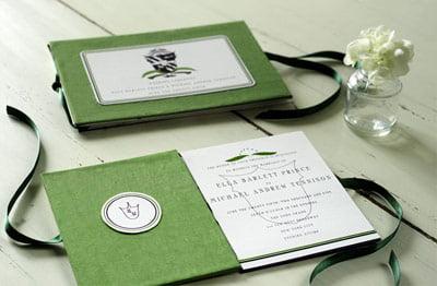 Invitatii-de-nunta-de-culoare-verde