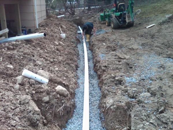 Sisteme de drenaj in gradini, Foto: wmbconstruction.com