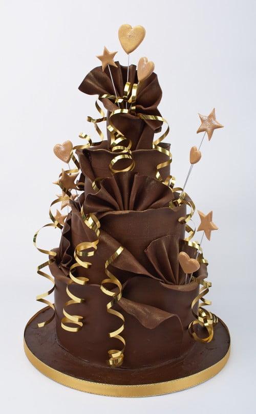 Tort-de-ciocolata-cu-aspect-deosebit