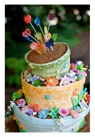 Tort-de-nunta-ghiveci-de-flori