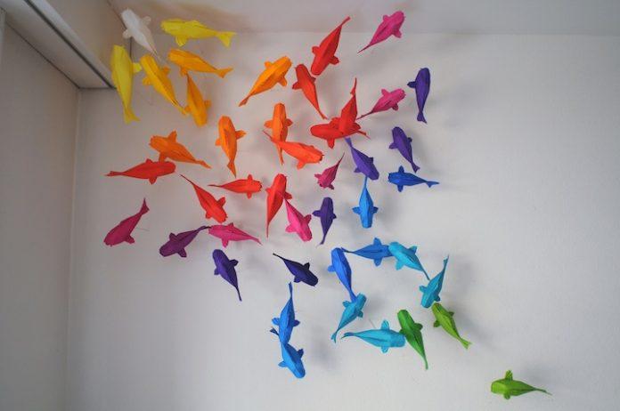 Origami Foto: www.mymodernmet.com