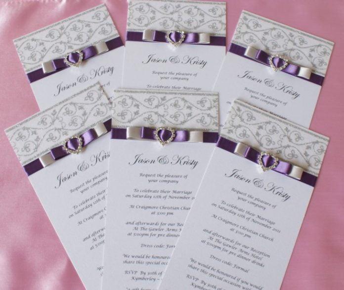 Idei creative pentru invitatiile de nunta, Foto: notesmediainc.com