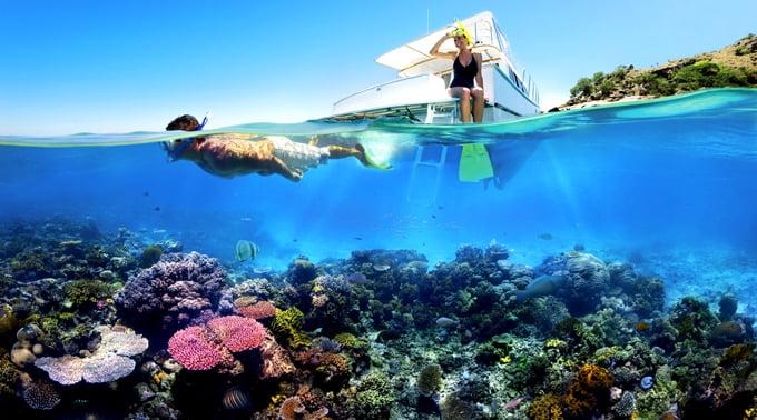 Snorkelling Foto: www.hopkinsbaybelize.com