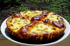Retete culinare de Pasti - Pasca cu branza
