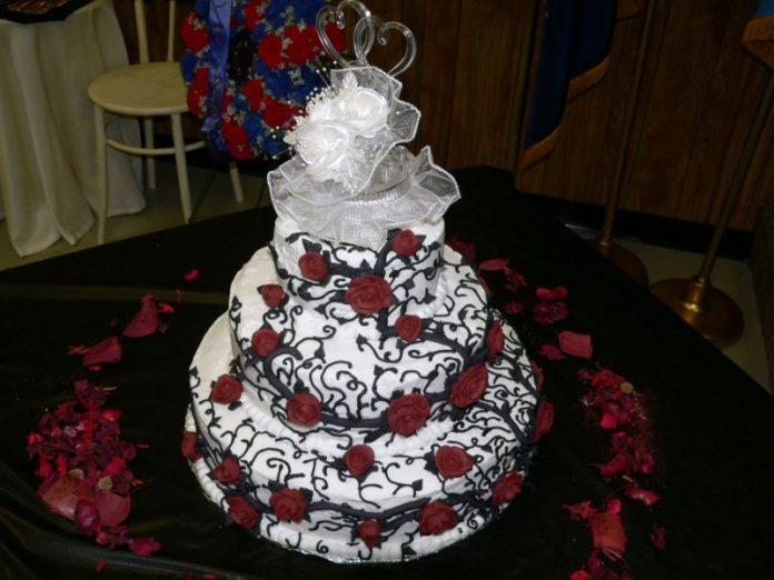Idei pentru torturi de nunta gotice, Foto: muchainformacion.net