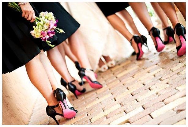 Pantofii domnisoarelor de onoare, Foto: inspirowanewesele.pl