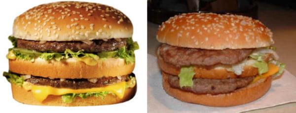 Produsele fast food - intre reclama si realitate