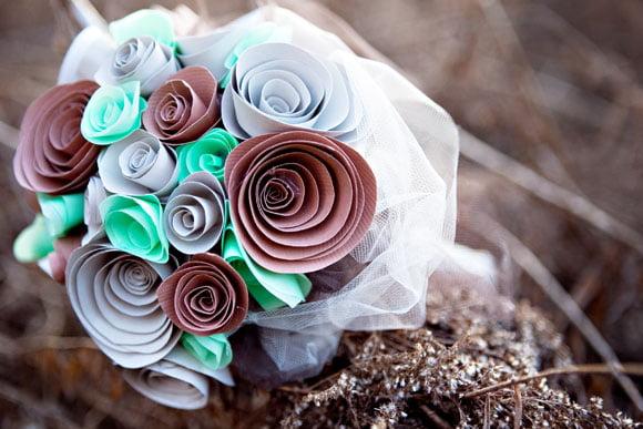 Buchet de flori handmade