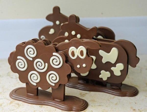 Cele mai tari obiecte din ciocolata