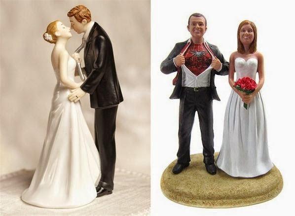 Figurine Pentru Tort De Nuntă Amuzante Vor Aduce Zâmbetul Pe Fețele
