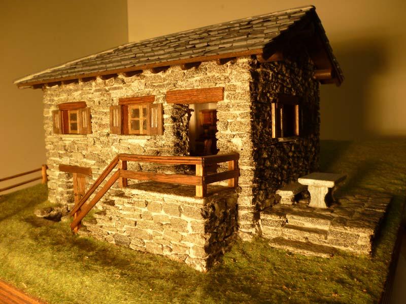 Machete o pasiune pentru obiecte n miniatur i un - Costruire case in pietra ...