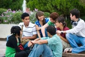 Adolescentii in liceu