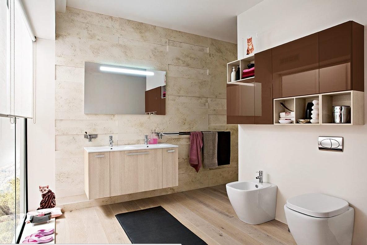 Baie moderna, Foto: home-designing.com