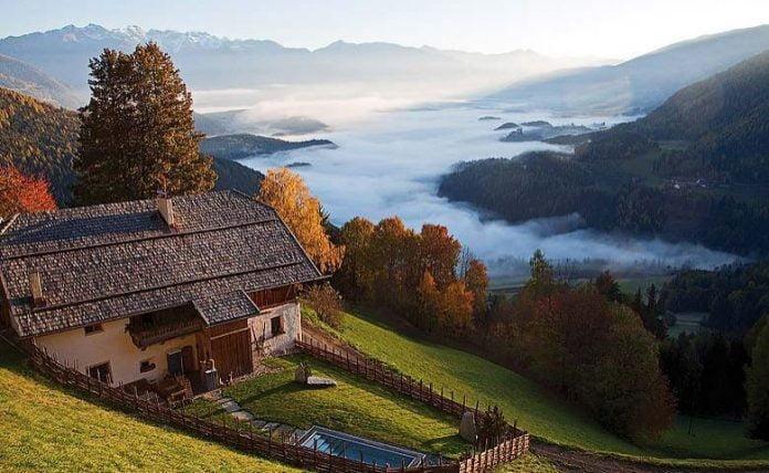 Casa de la munte, Foto: inspirationsdeco.blogspot.com
