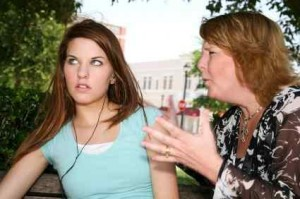 Adolescent care nu asculta
