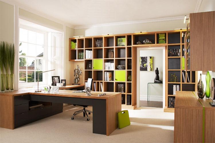 Amenajarea si amplasarea biroului, Foto: furniture-mahogany.org