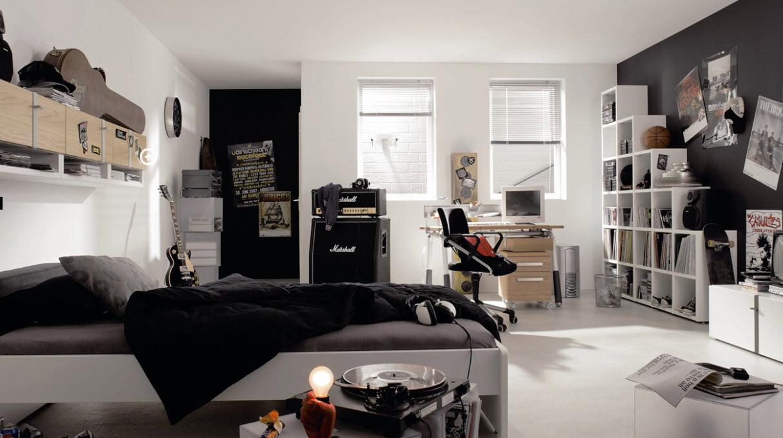 Camera pentru adolescenti, Foto: home-designing.com