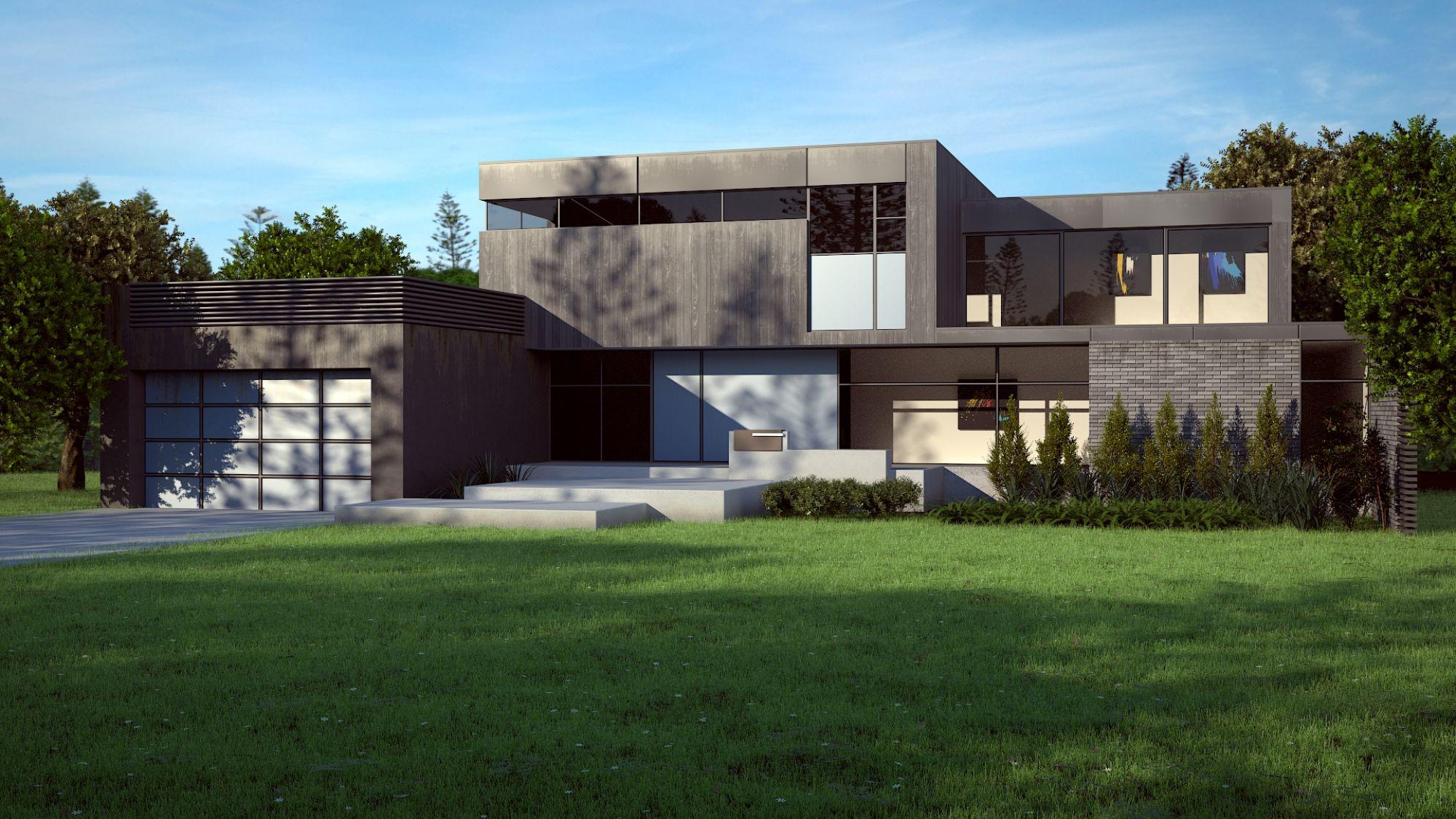Casa moderna, Foto: cgarchitect.com