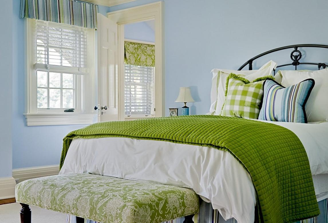 Decorarea dormitorului pentru vara, Foto: freshome.com