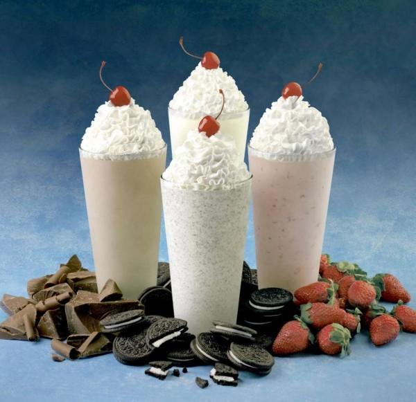 Milk shakes, Foto: ranker.com