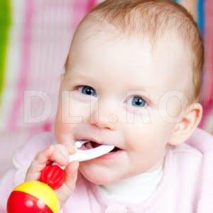 Cresterea dintilor de lapte