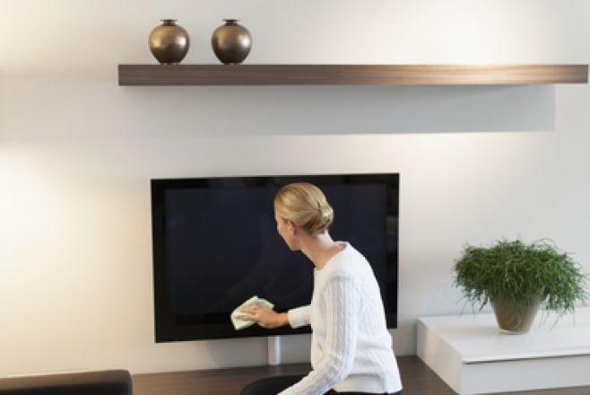 Curatarea televizorului cu plasma, Foto: tipy.pl