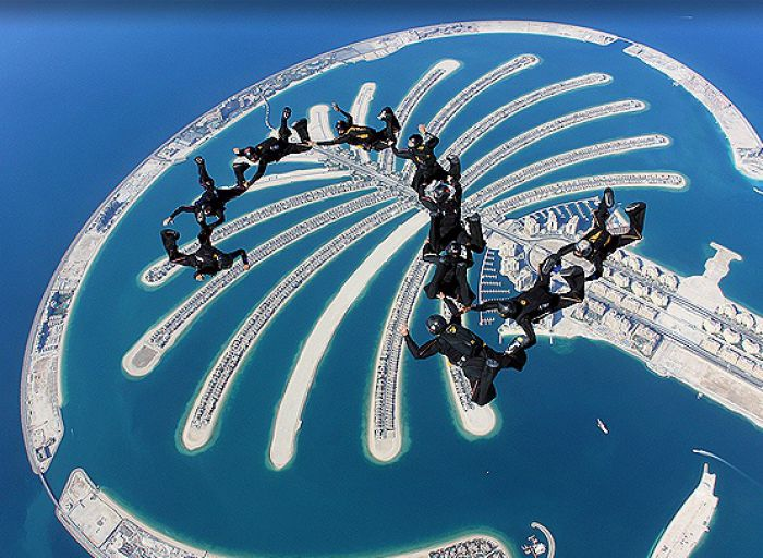 Parasutism in Dubai Foto: hypefeed.de