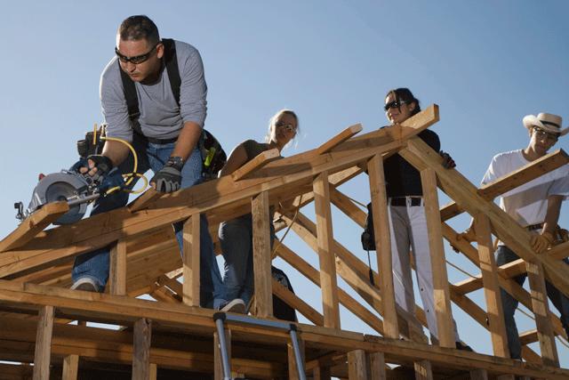 Construirea unei case, Foto: doverestoration.ca