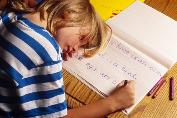 Dislexie, Foto: topics.time.com
