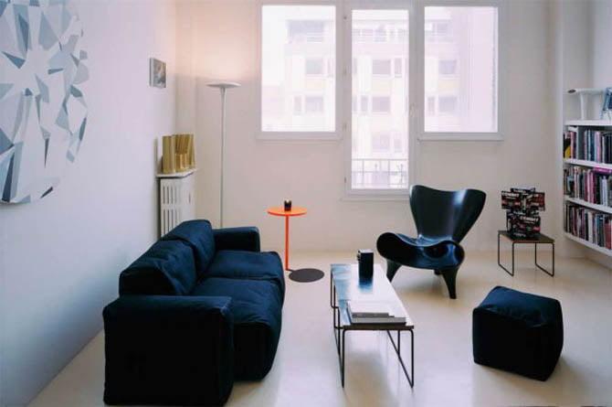 Cum sa decorati un apartament de mici dimensiuni, Foto: coolshire.com