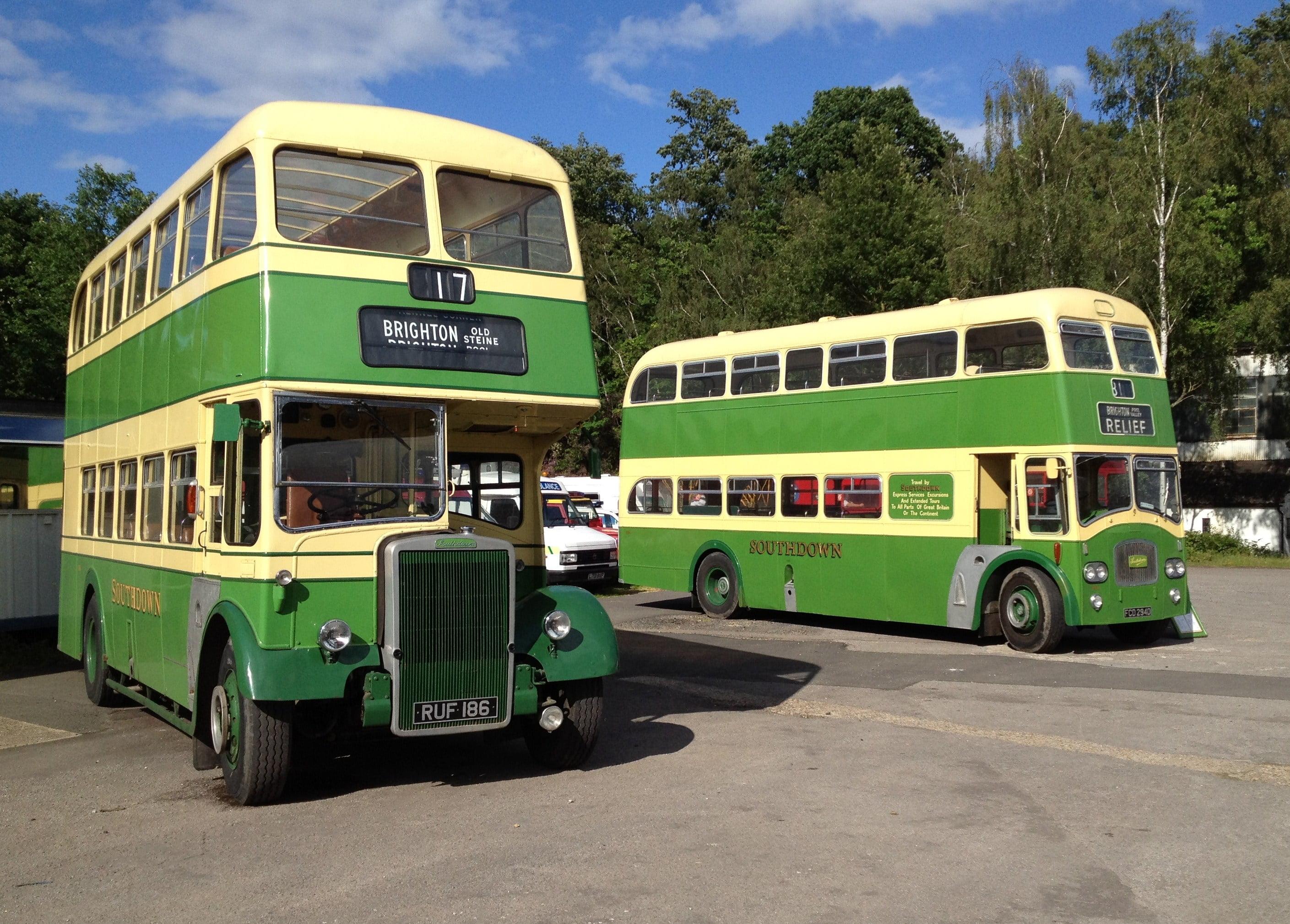 Autobuse Foto: www.londonbusmuseum.com