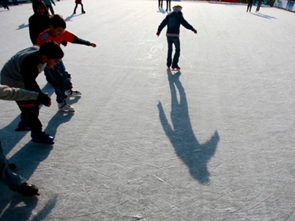 Pe patinoar Foto: www.timisoaraonline.ro