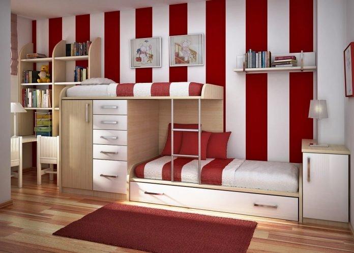 Delimitarea spatiului in camera copiilor, Foto: kinderfair.com