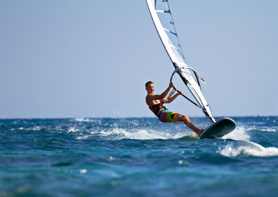 Windsurfing, Foto: jurassiccoastactivities.co.uk