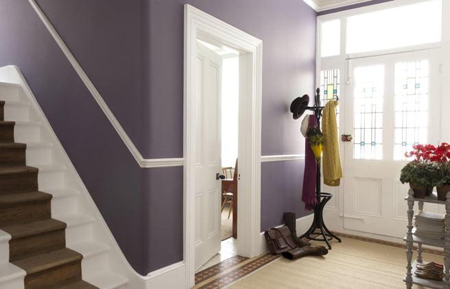Cum sa adaugati un strop de culoare holului, Foto: dulux.co.uk