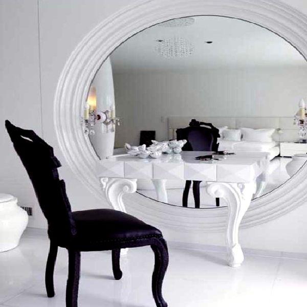 Cum sa faceti o masuta cu oglinda, Foto: hometrendesign.com