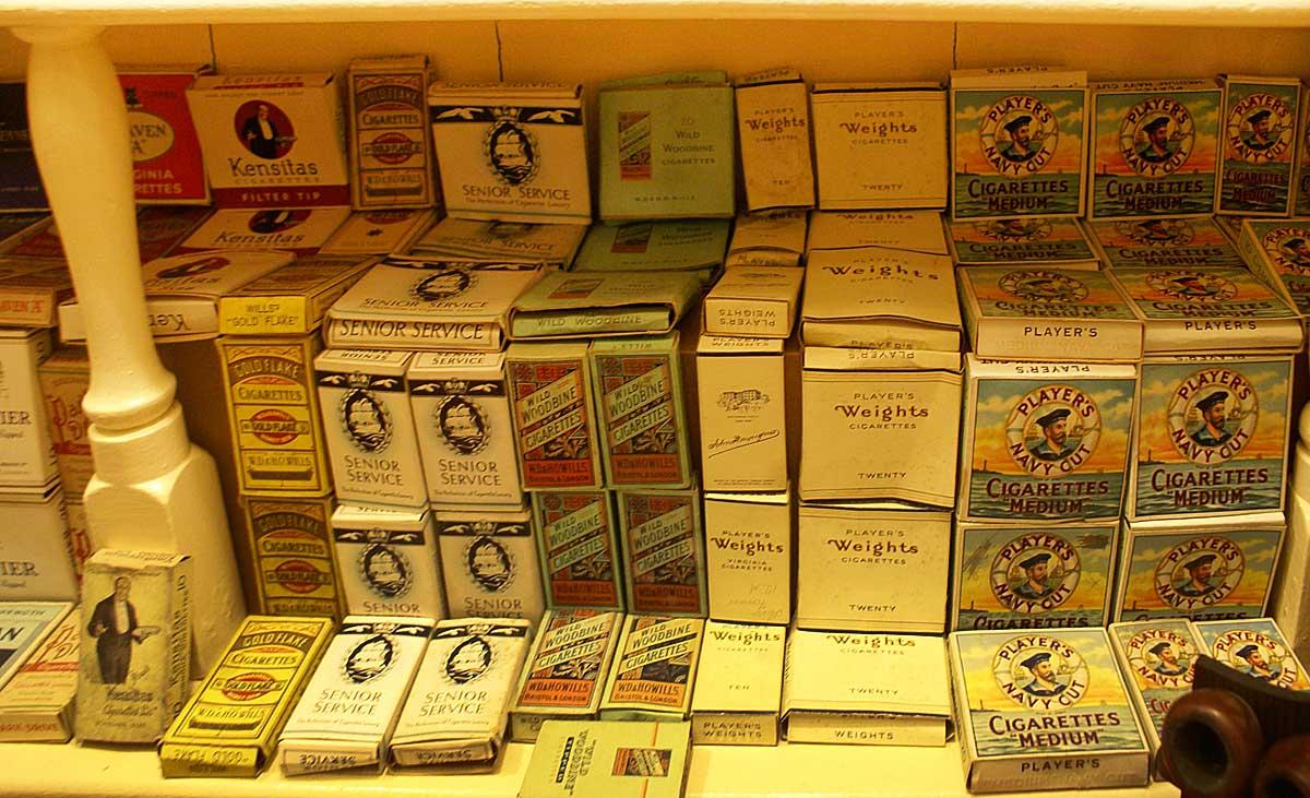 Pachete de tigari Foto: www.1900s.org.uk