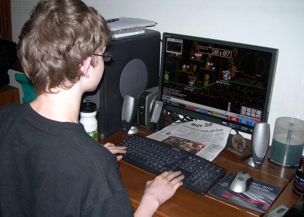 Jocurile PC si copiii