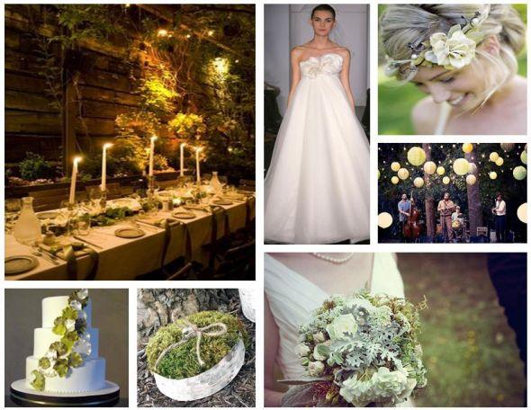 Visul unei nopti de vara ca tematica pentru nunta Foto: boards.weddingbee.com