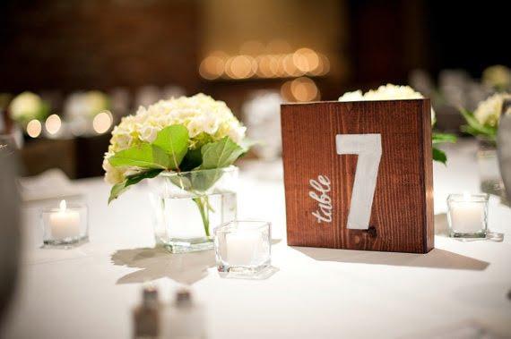 Cele mai creative idei pentru numerotarea meselor, Foto: lover.ly