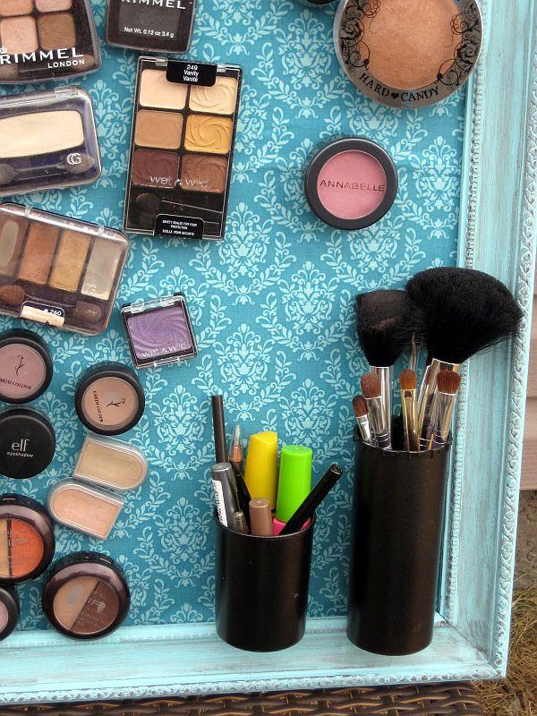 Cum sa realizati un suport magnetic pentru produse cosmetice Sursa foto: www.homedit.com