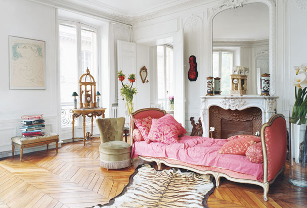 Decorul parizian Sursa foto: blog.highfashionhome.com