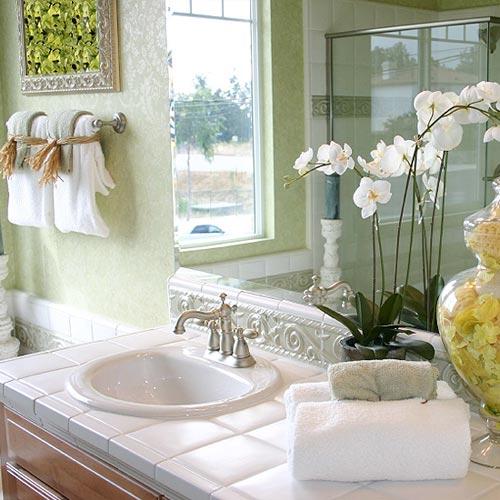 Idei pentru a avea o baie relaxanta Foto: www.bathroom-designs-ideas.com